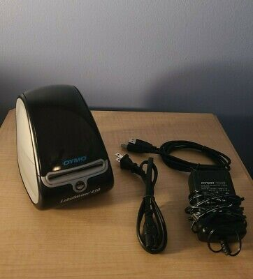 Dymo Label Writer 450 Thermal Label Printer With Power And Usb Cords.