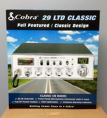 Cobra 29LTD Classic 40-Channel CB Radio Brand New Low $$