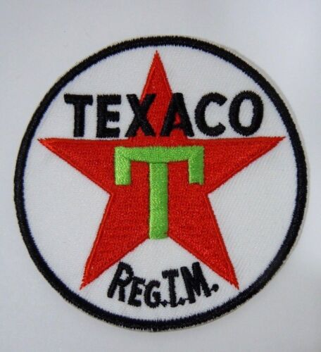 "TEXACO Fuels Embroidered Iron On Uniform-Jacket Patch 3"" NEW"