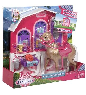 Barbie horse stable **NEXT DAY DELIVERY**
