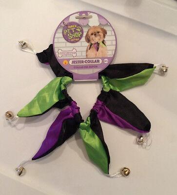 Rubie's-Pet-Shop-Boutique-M/L-Jester-Collar-Mardi-Gras-Green-Purple-Black-Bells](Jesters Costume Shop)