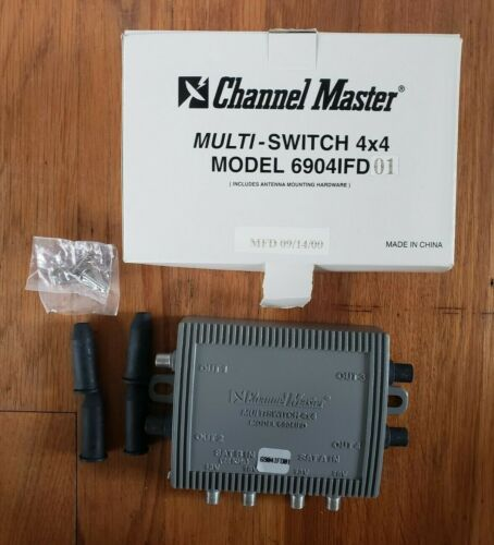 Channel Master Multi-Switch 4x4 6904IFD