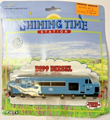 1995 ERTL Shining Time Station D199 DIESEL Train Engine Thomas The Train #4083