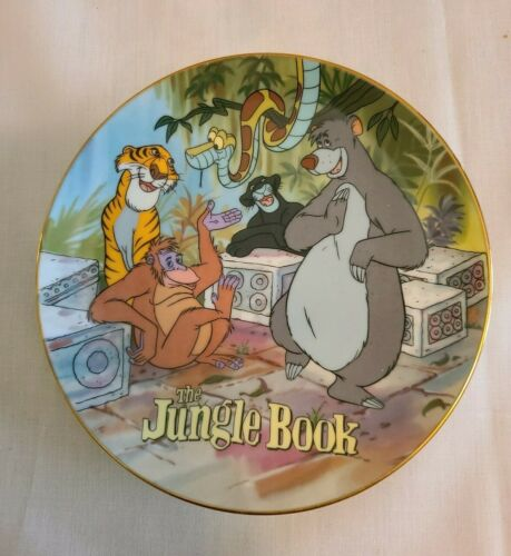 """""""Disney Animals"""" The Jungle Book Collector Plate 7"""""""