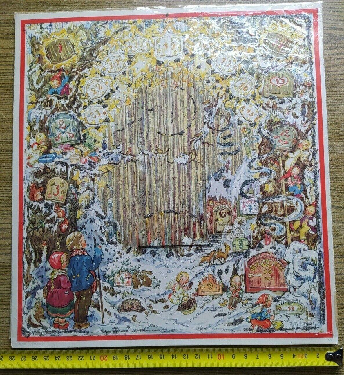 Alter Adventskalender, Weihnachtskalender - von Ruthild B  sch ?