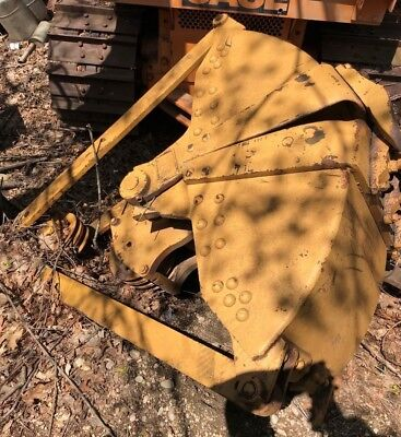 Crane Digging Dredging Clamshell Bucket 58 Yard Six Teeth K 333
