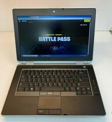 Dell Latitude E6430 Gaming Laptop 2.7 GHz i5-3340M  16GB 750GB Webcam