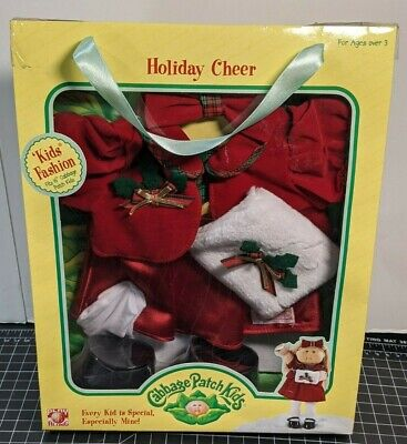 New Cabbage Patch Kids Holiday Cheer Outfit Jakks Pacific Play Along 2005