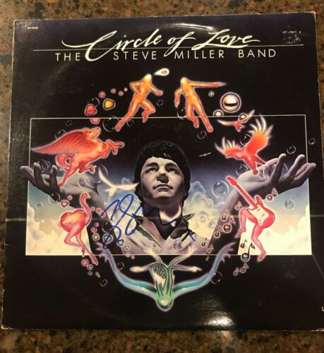 * STEVE MILLER * signed autographed album * CIRCLE OF LOVE * 1