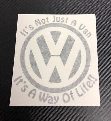 VW Transporter T5.1 T6 Camper van decal sticker Its not just a van