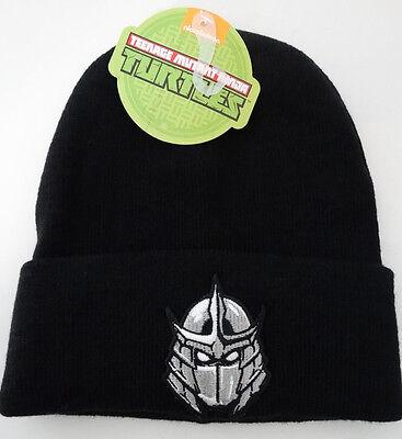 Teenage Mutant Ninja Turtles Shredder TMNT Cuff Knit Hat Nwt