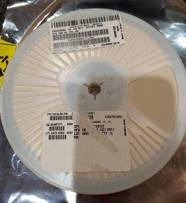 5000-vishay-crcw0805101rfkt1-smd Thick Film Chip Resistors 18w 1.0kohm 1