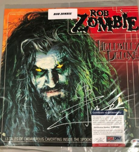 2018 Leaf Vault  Rob Zombie  HellBilly Deluxe cover auto PSA/DNA