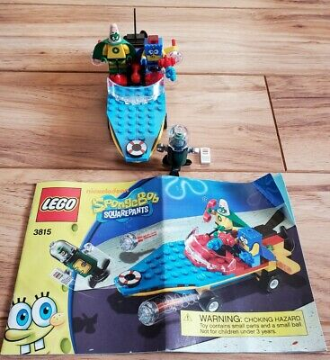 LEGO Set 3815 - SPONGEBOB SQUAREPANTS Heroic Heroes of the Deep Complete No Box