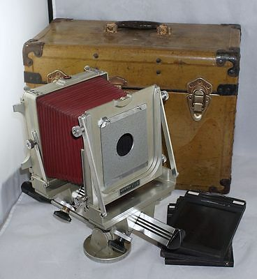 4x5 Graphic View Camera w/ Case & Film Holders