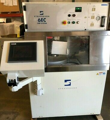 Strasbaugh 6ec Cmp System Polisher With Touch Screen