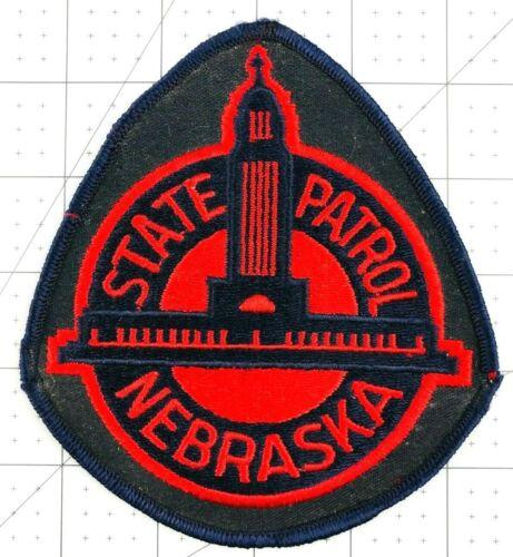 Vintage Nebraska State Patrol Police Officer Shoulder Patch Badge Emblem  *AL