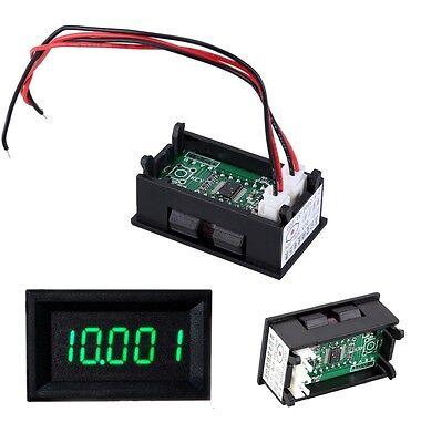 Green Led 5digit Dc 0-4.3000-33.000v Digital Voltmeter Voltage Meter Car Panel L