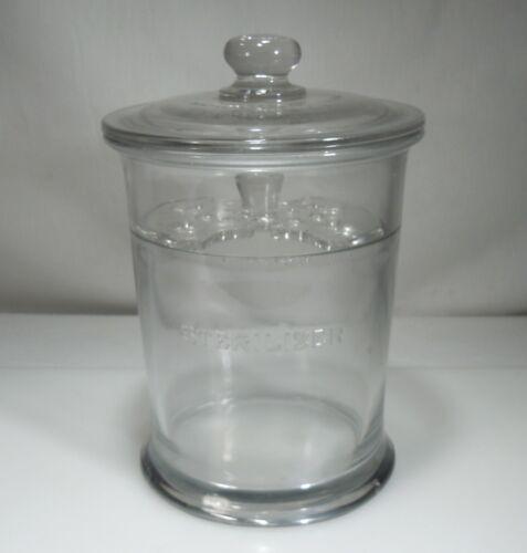Antique Dental Medical Instruments Sterilizer Glass Jar        54099
