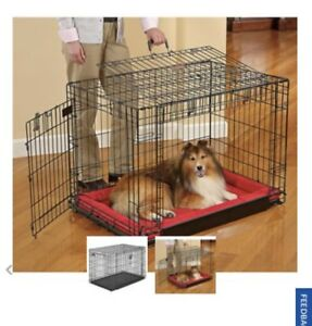 Large Dog Crate Kennel Cage