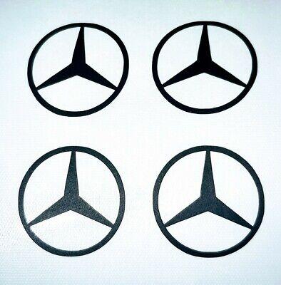 Autoaufkleber, Mercedes Benz, Tuning, Sticker, Radnabendeckel Sticker, 4 Stück