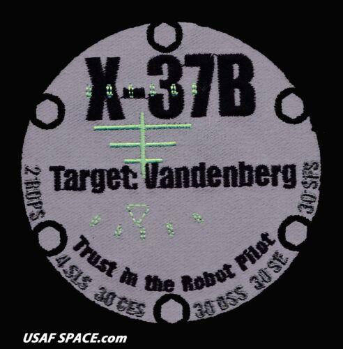 X-37B OTV ORBITAL ATLAS V TARGET VANDENBERG BOEING ORIGINAL USAF VAFB PATCH