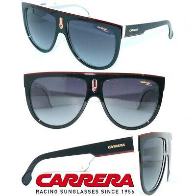 CARRERA SONNENBRILLE SCHWARZ WEISS FLAGTOP CHAMPION VR6Y5 DAMEN BRILLE HERREN (Gucci Carrera Sunglasses)