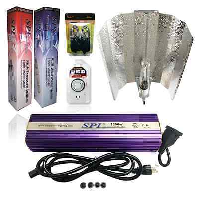 400w Mh Grow Light (1000W 600W 400W Watt MH/HPS Grow Light Digital Wing System Set Kit for)
