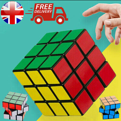 Kids Fun Rubiks style speed cube Toy Game Classic Magic Rubic Puzzle XMas Gift