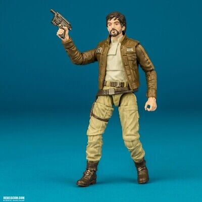 "Cassian Andor Star Wars Black Series 3.75"" VC130 Rogue One Rebel Captain loose"