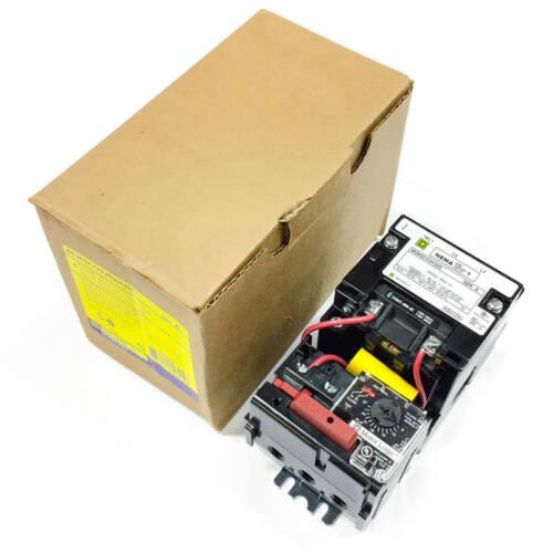 Square D 8536SCO3V02H30S AC Magnetic  NEMA 1 Motor Starter, Open, 9-27A Overload