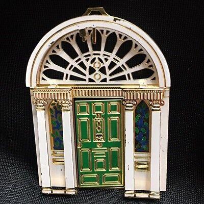Robert Emmet Christmas Tree Ornament Irish Green Door Gold Plated 3D Enameled (Green Enameled Christmas Tree)