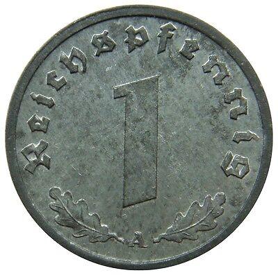 (G18) - Deutschland Germany - 1 Reichspfennig 1943 A Reichsadler - UNC - KM# 97