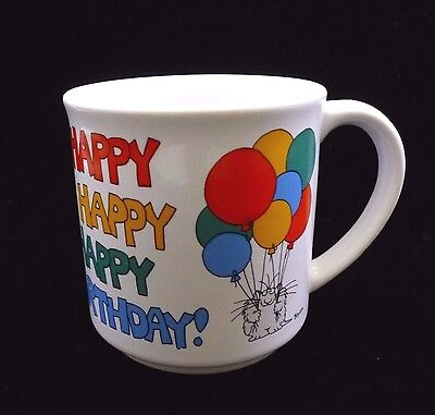 Birthday Paper Products (Ceramic Mug Recycled Paper Products Sandra Boynton Happy Birthday)