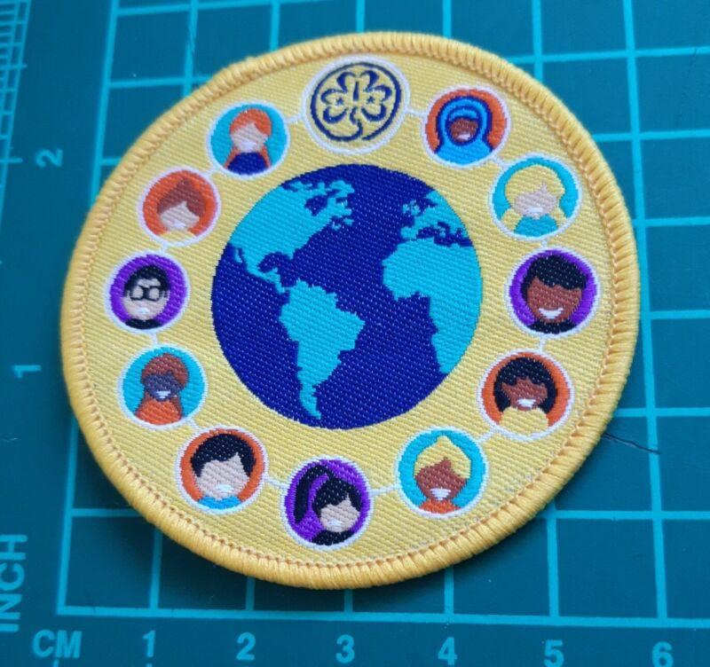 Girl Guide International Friendship Day Badge