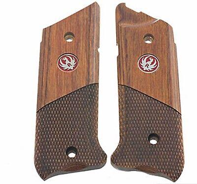 Ruger Mark Iv  Mk Iv   Mark 4   Wood Grips Half Checkered Cocobolo  Seconds