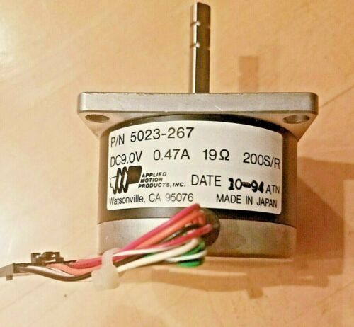 Four  Applied Motion 5023-267  DC 9.0V   0.47A  19ohms 200S/R  USA seller