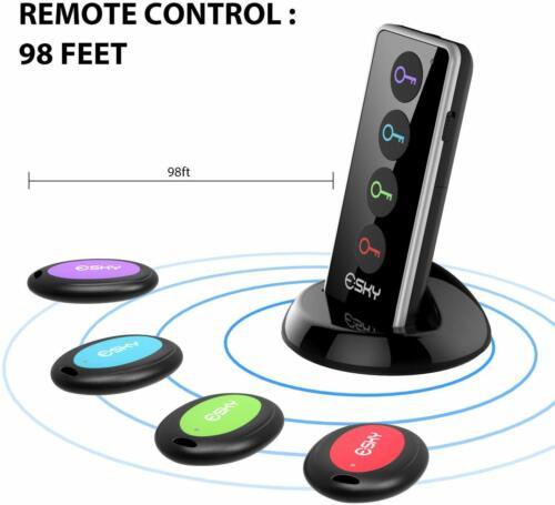 Esky Key Finder, Wireless RF Item Locator Item Tracker Suppo