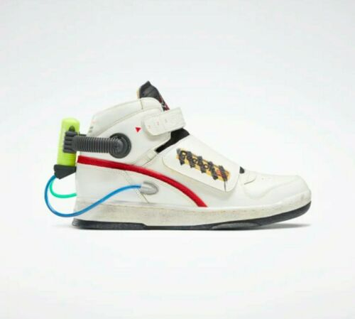 👻 Reebok Ghost Smashers Ghostbusters Shoes Size 10.5 White Ready to ship! 👻