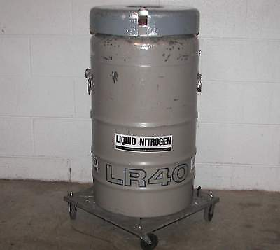 Union Carbide Cryo Container Containment Chamber Dewar