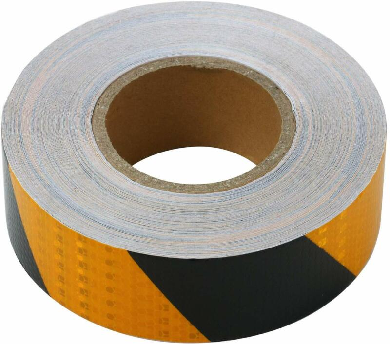Reflective Safety Tape Roll With Hazard Caution Warning Tape