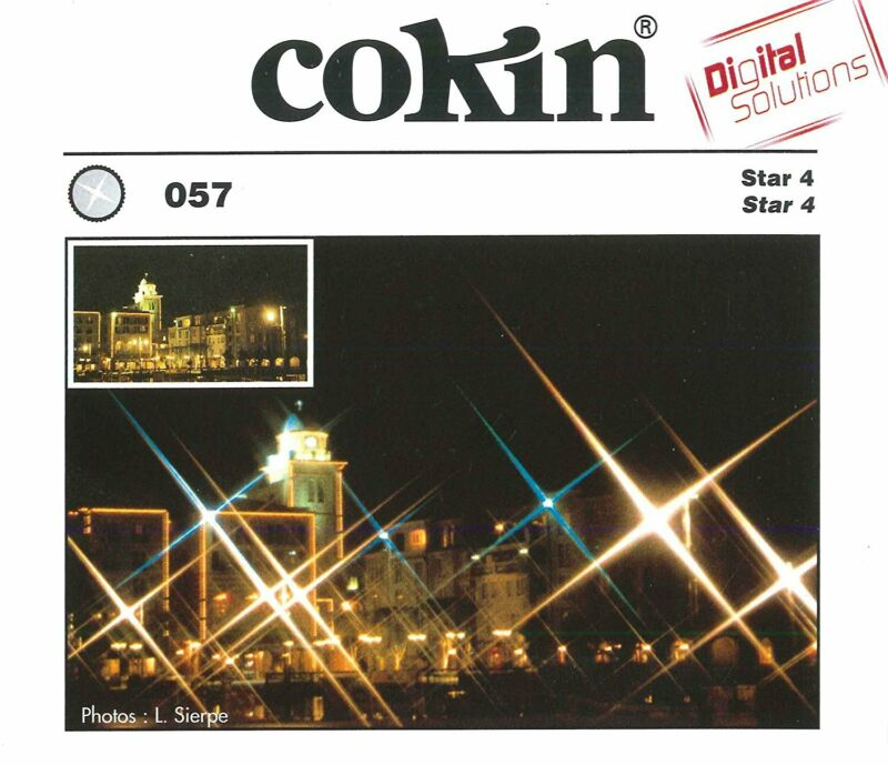 Cokin Star Effect (4 Point) Filter in - Fits P Series Holder - MPN: CP057
