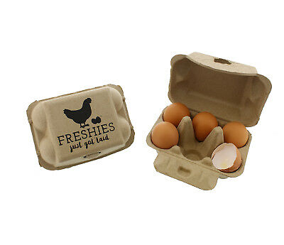 Rural365 Pulp Egg Cartons Bulk Pack Of 20 Empty Egg Cartons Half Dozen Egg Crate
