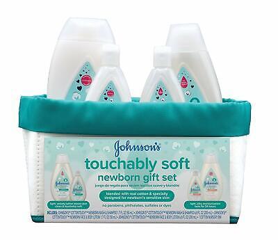 Johnson's Touchably Soft Newborn Baby Gift Set, Baby B