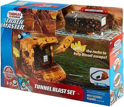 Fisher-Price Thomas & Friends TrackMaster Tunnel Blast Set w/ Diesel FJK24 *NEW*