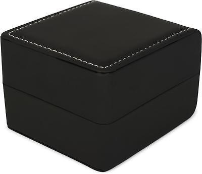 Geschenkschachtel in Leder Optik für Schmuck, Ketten, Armbänder, Geschenkbox Box