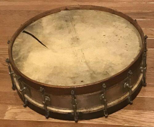Antique Metal Snare Drum, 1910