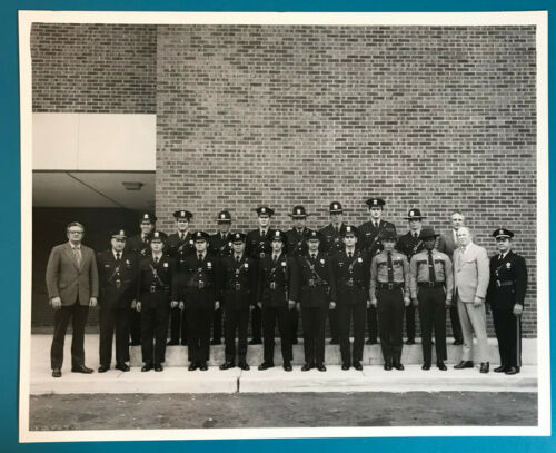 1973 Trenton Police Academy Graduation Mercer County New Jersey VTG Photograph