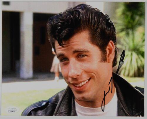 John Travolta Grease Autograph Signed Photo JSA 8 x 10
