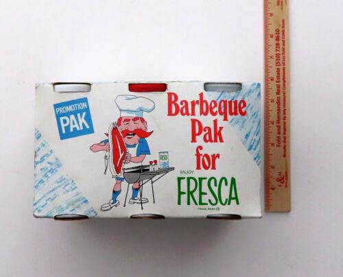 Rare Original 1960s  Fresca Pop Art Barbeque Promotion Pak  Advertising Complete